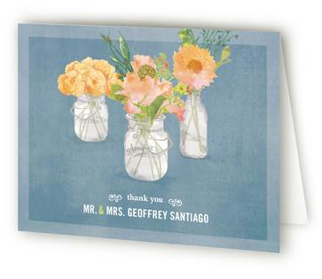 Bouquet D'Amour Thank You Cards