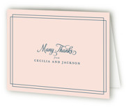 Chic Gala Thank You Cards