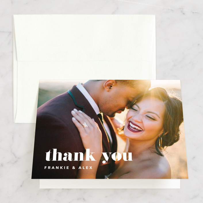"""""""Letters"""" - Thank You Cards in Silk by JoAnn Jinks."""