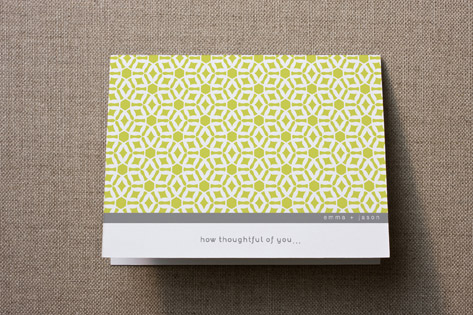 Elegantly Simple Thank You Cards