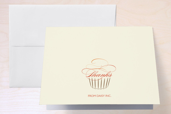 """""""Sweet Success"""" - Thank You Cards in Tangerine by sweet street gals."""