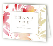 Stately Florals Thank You Cards