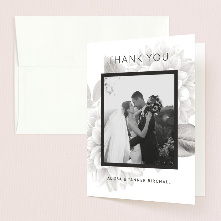 """Together Forever"" - Thank You Cards in Shadow by Jill Means."