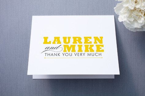 Cocktail Hour Thank You Cards
