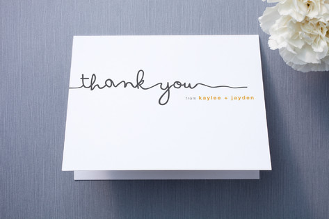The Happy Couple Thank You Cards