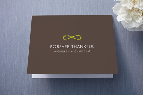 Infinite Thank You Cards