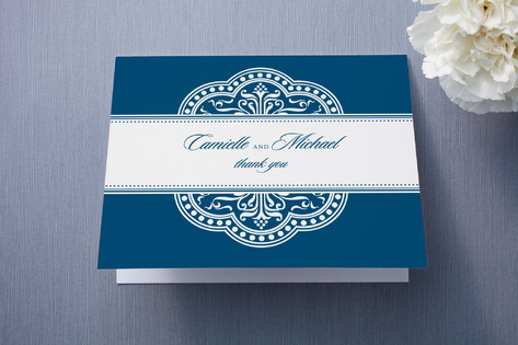 Ornamental Thank You Cards