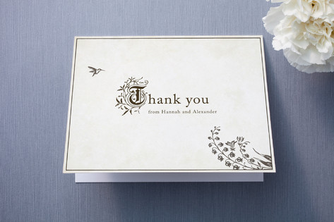 Story Book Thank You Cards
