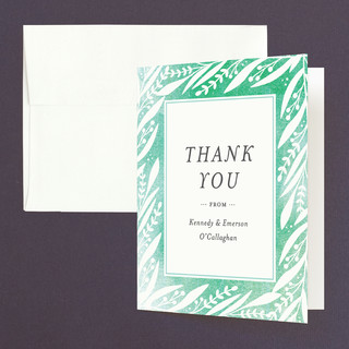 Breezy Branches Thank You Cards