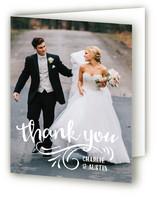 wedding thank you photos cards