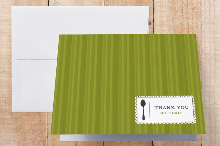 """""""Party Label"""" - Thank You Cards in Mojito by lauren mummé."""