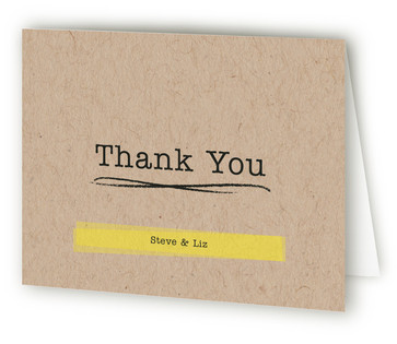 Buzzword - Free BBQ Thank You Cards