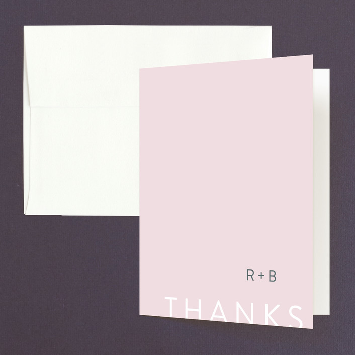 Minimal Modern Thank You Cards By Mere Paper Minted