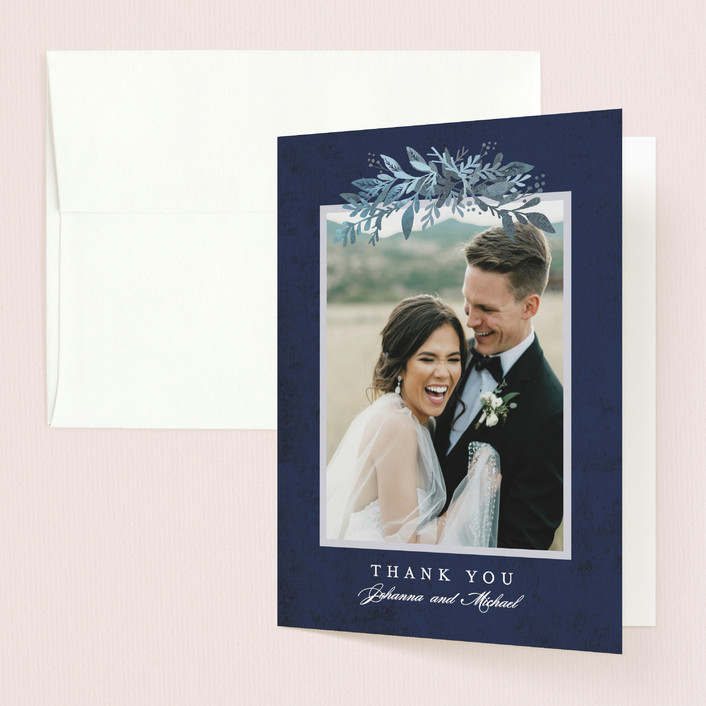 """Tailored Branches"" - Thank You Cards in Atlantic by Karidy Walker."