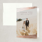 Foil-Pressed Thank You Cards