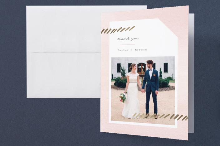 Pas De Chat Wedding Thank You Cards