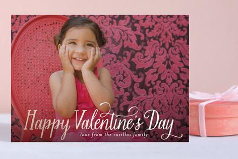 Happy Valentine's Day Foil-Pressed Valentine Cards