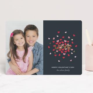 Love Burst Foil-Pressed Valentine Cards