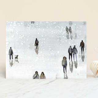 """""""Winter Wander"""" - Vellum Background Cards in Icicle by Lulaloo."""