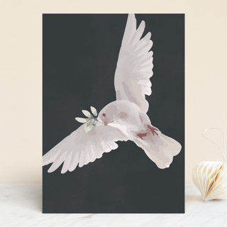 """""""Dove Wings"""" - Vellum Background Cards in Stone by Zhay Smith."""