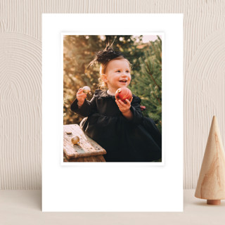 """""""Luminous with Joy"""" - Vellum Background Cards in Snow by Oscar and Emma."""