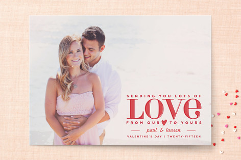 Lots of Love Valentine's Day Cards