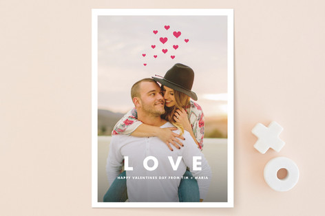 Hearts Aflutter Valentine's Day Cards