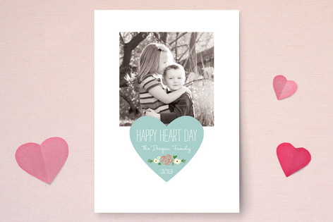 Happy Heart Day Valentine's Day Cards