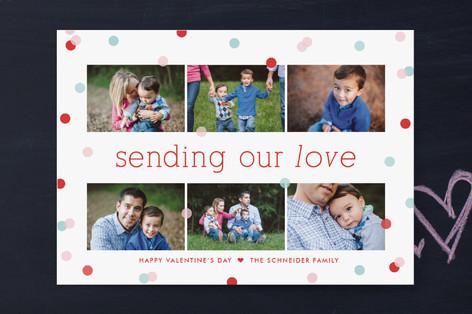 Confetti Valentine's Day Cards