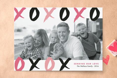 Brush Strokes Valentine's Day Cards