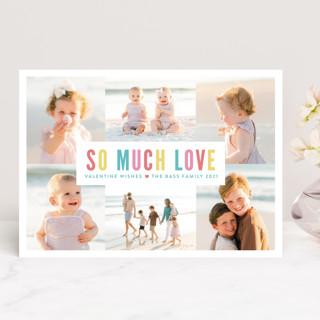 So Much Love Collage Valentine's Day Cards