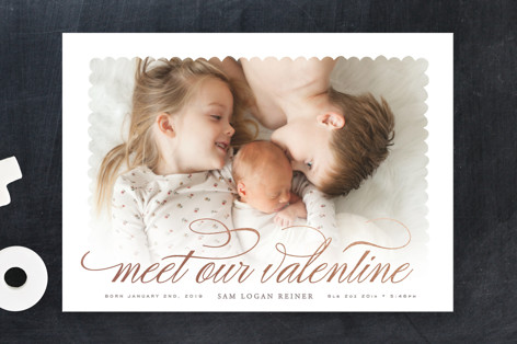 Sweet Meeting Valentine's Day Cards