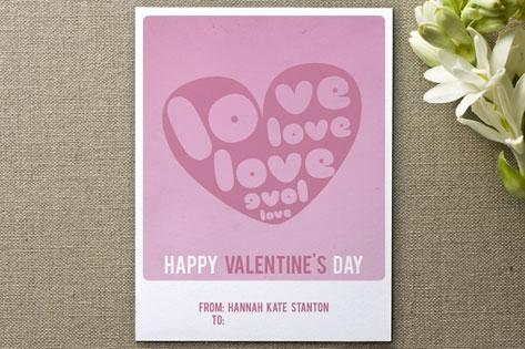 love love love Valentine's Day Cards