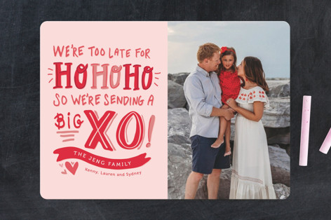 Big XO Valentine's Day Cards