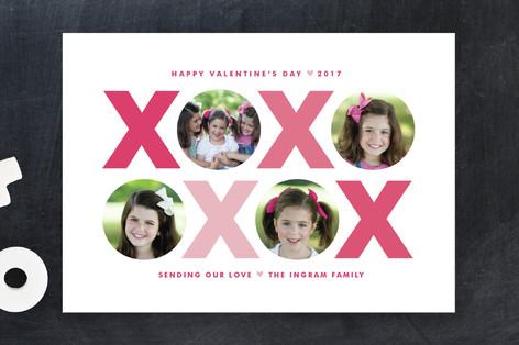 X & O Valentine's Day Cards