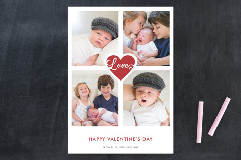 Scripted Love Valentine's Day Cards