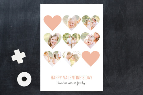 Modern Hearts Valentine's Day Cards