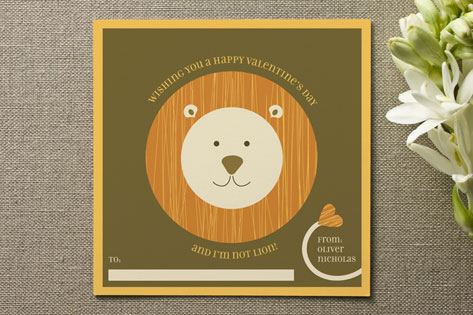 Roarin' Wishes Valentine's Day Cards