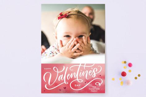 Valentines Script Valentine's Day Cards