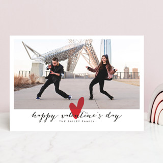 Married Little Heart Valentine's Day Cards