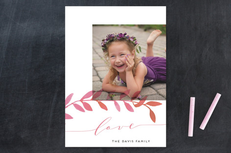 Botanical Love Valentine's Day Cards
