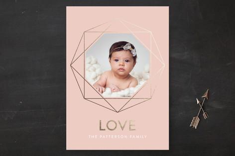Diamond Love Valentine's Day Cards