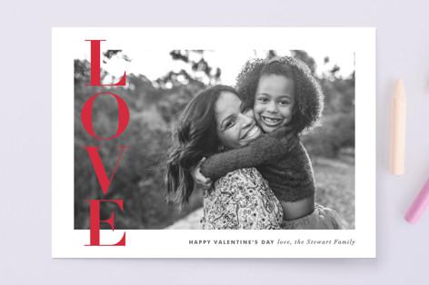 Love Banner Valentine's Day Cards