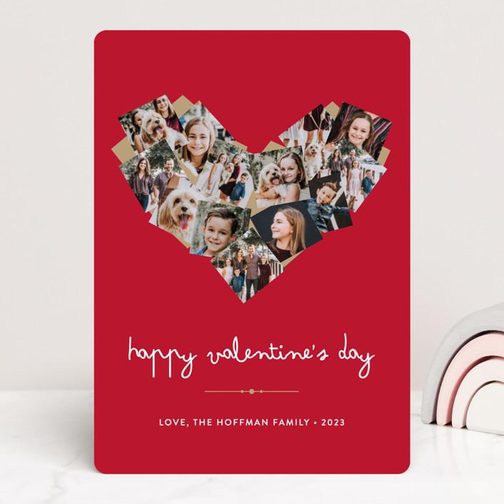 """""""Abundant Love"""" - Valentine's Day Cards in Silver by heythird."""