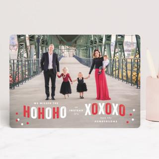 Ho Ho Xo Valentine's Day Cards