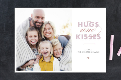 hugs&kisses Valentine's Day Cards