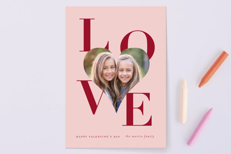 Big Heart Love Valentine's Day Cards