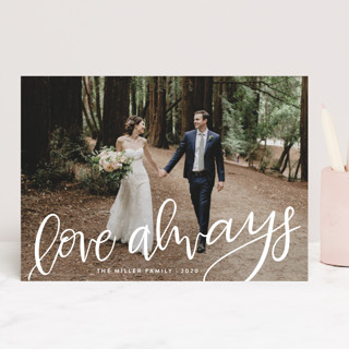 Lettered Love Always Valentine's Day Cards