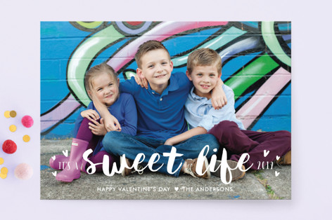 Sweet Life Valentine's Day Cards