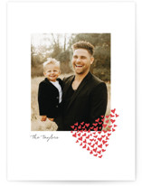 This is a red valentines day by Laura Hamm called With Love with standard printing on smooth signature in standard.